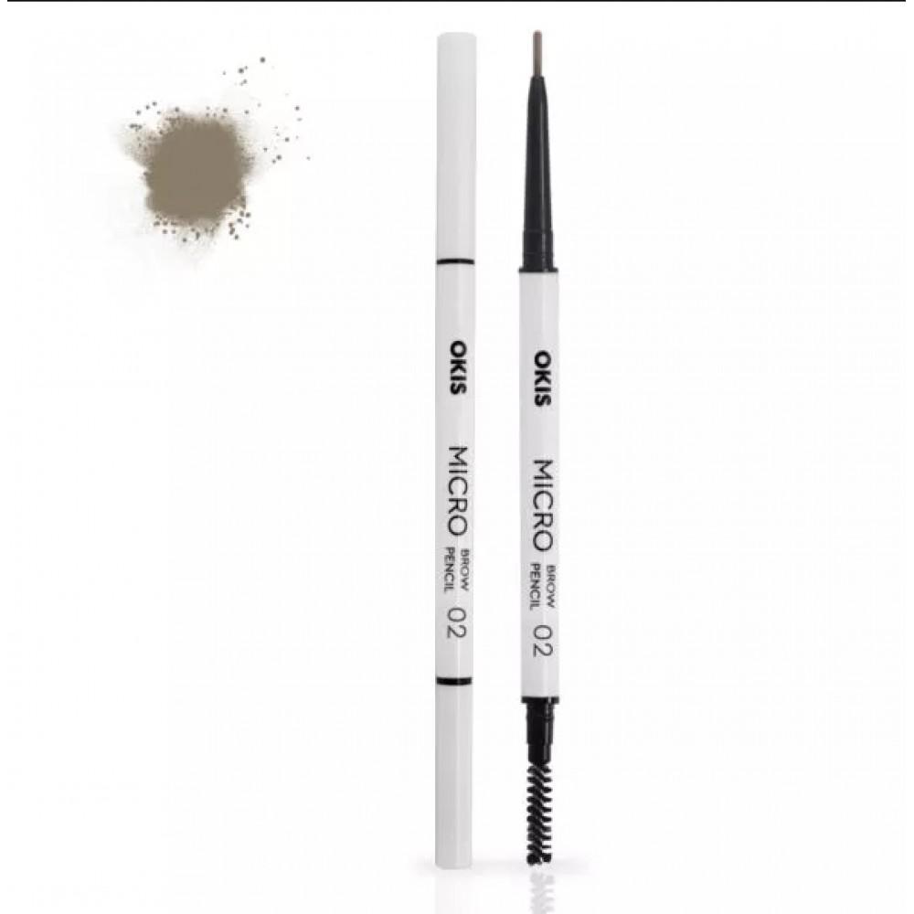 Okis Brow Micro Pencil 02 Cold Blond Олівець для брів
