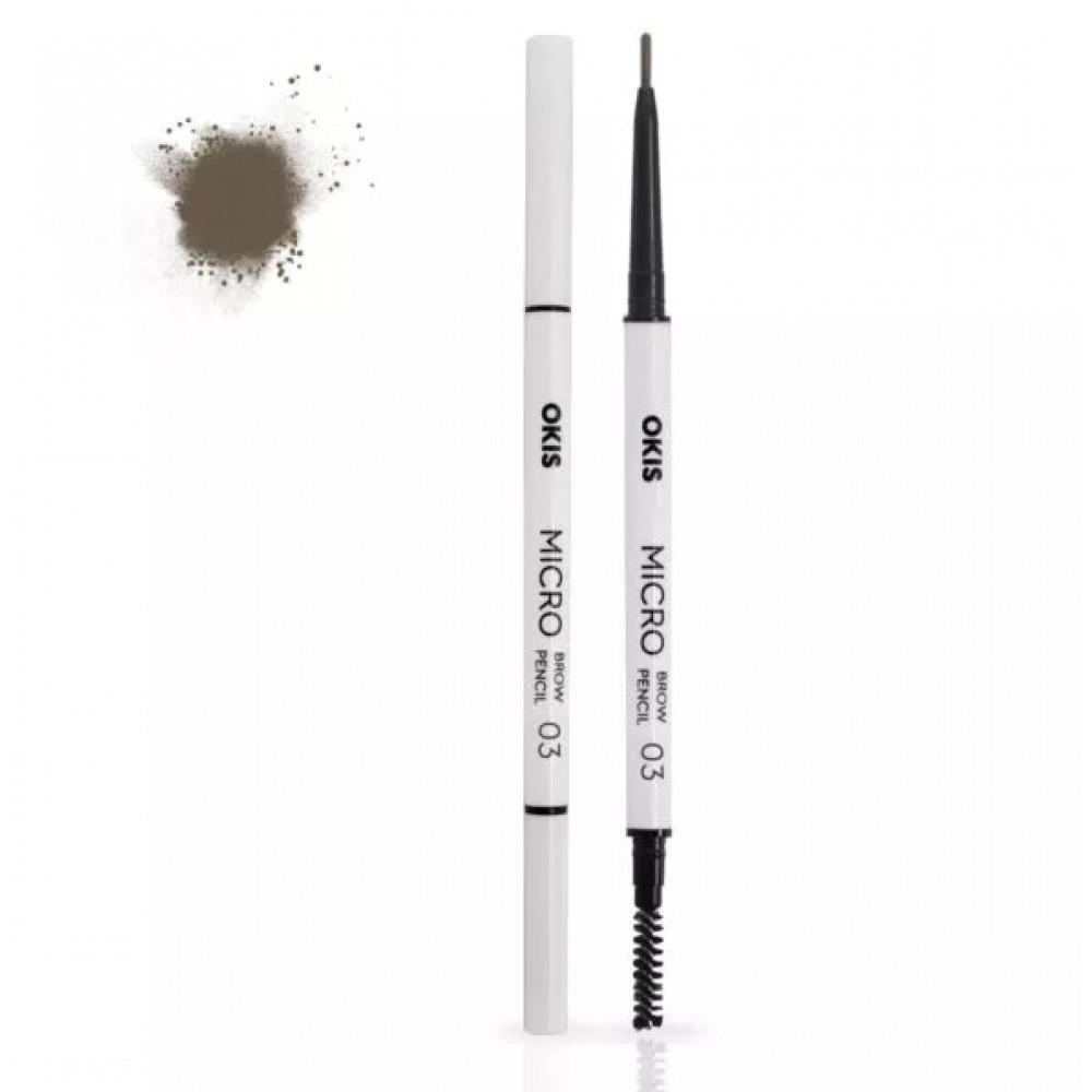 Okis Brow Micro Pencil 03 Gentle Brown Олівець для брів