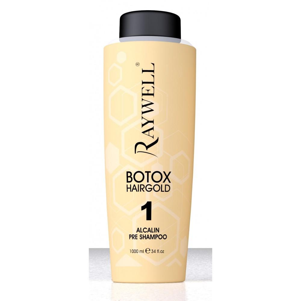 Raywell Botox Hairgold Шампунь 1000 мл