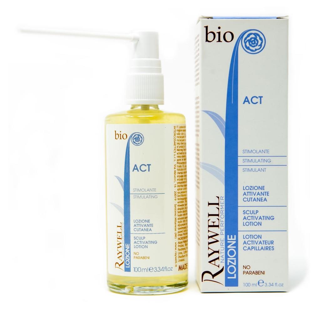 Raywell Bio Act Активучий лосьйон проти випадіння волосся 100 мл