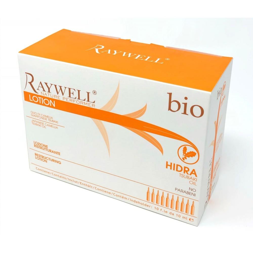 Raywell Bio Hidra Реструктуруючий лосьйон в ампулах 10 мл