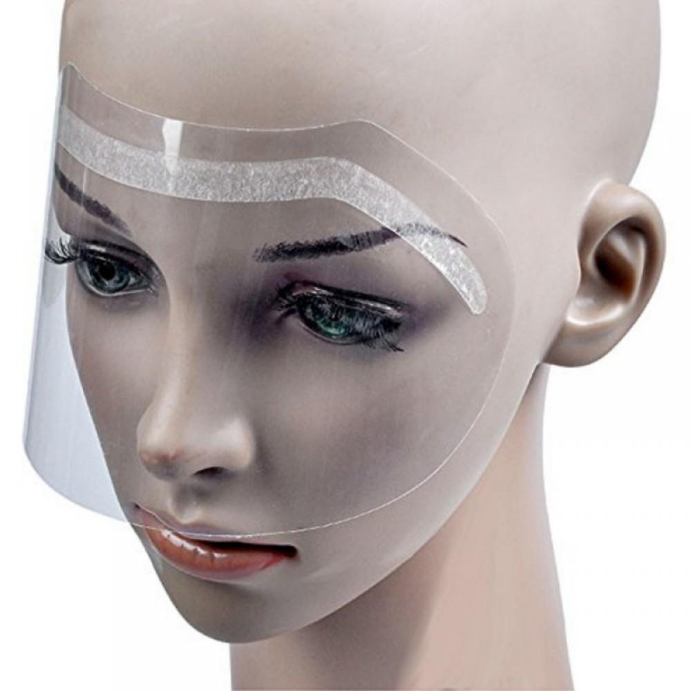 Маска (экран) одноразова для захисту обличчя клієнта (10 шт.)