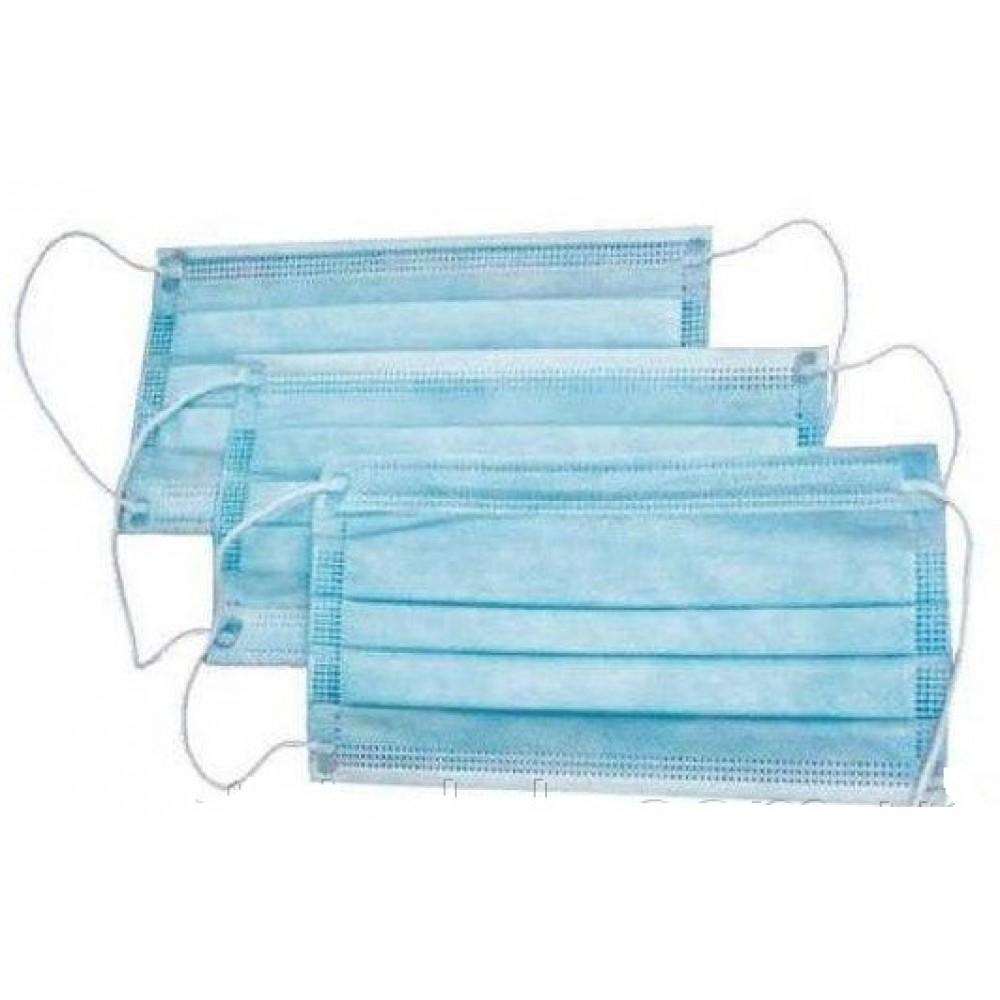 Medicom Safe+Mask Economy Процедурні маски з вушними петлями блакитні 50шт. в уп.