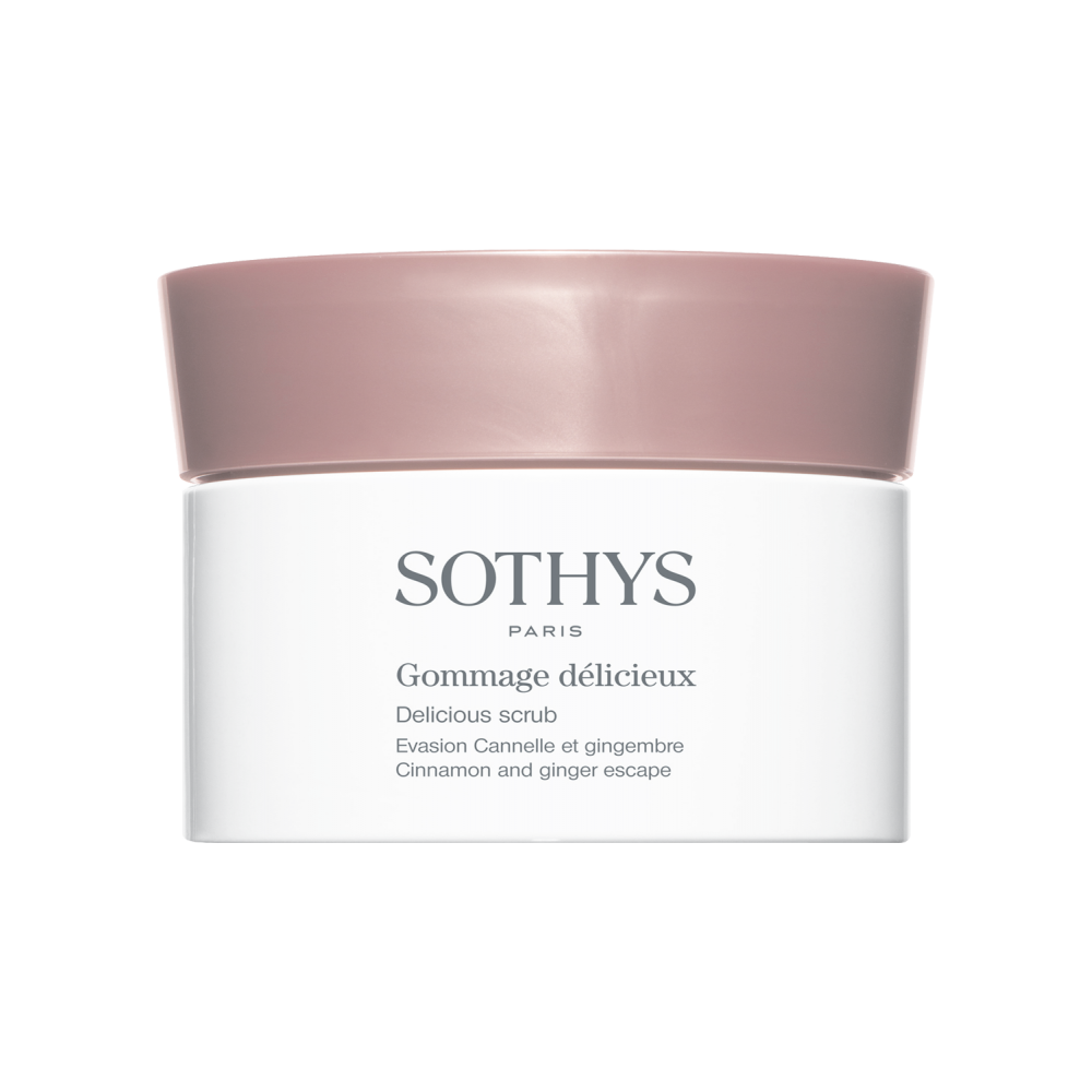 "Sothys Delicious Scrub Cinnamon & Ginger Escape Гоммаж ""Кориця та імбир"" 200 мл."
