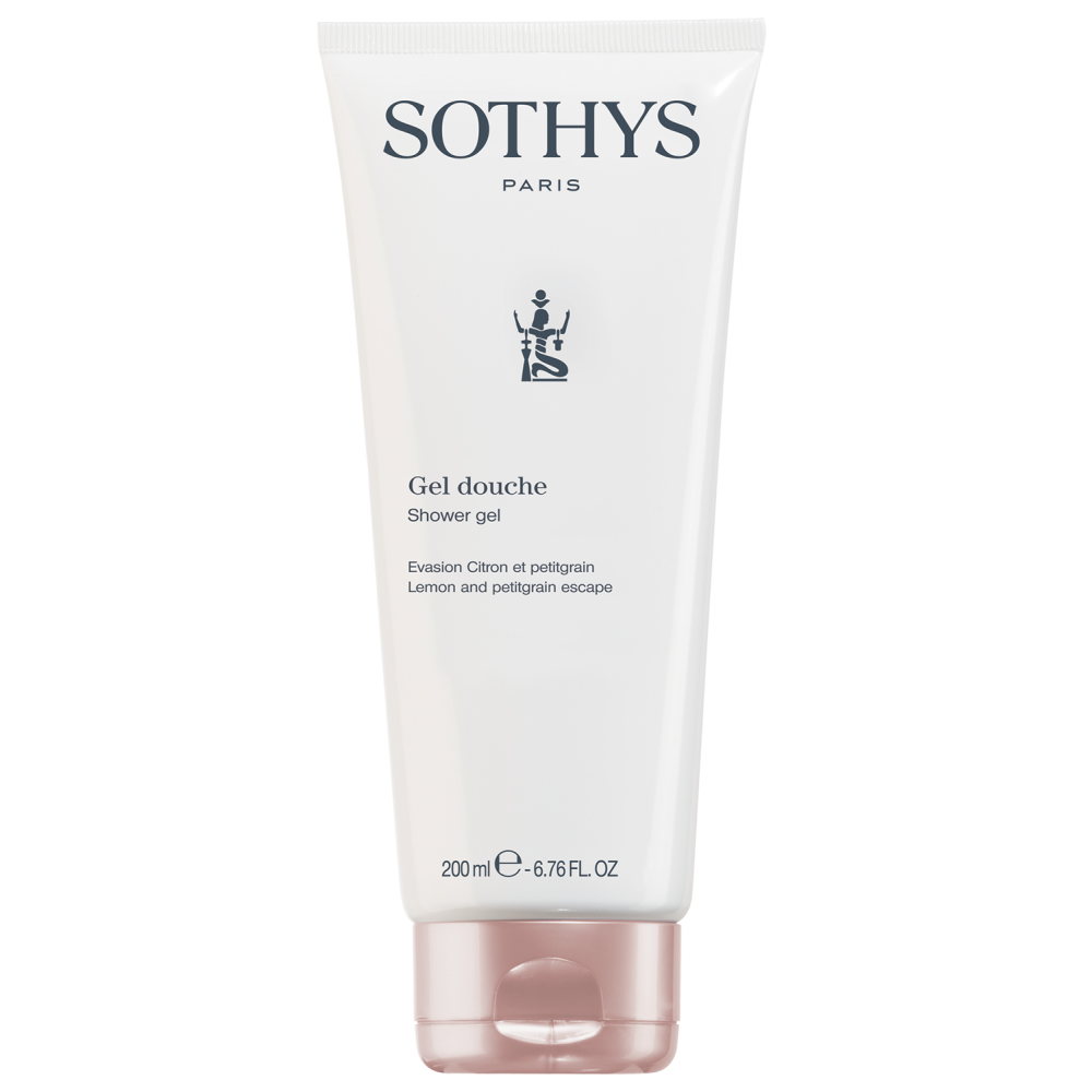"Sothys Shower Gel Lemon & Petitgrain Escape Гель для душу ""Лимон і петітгрейн"" 200 мл."