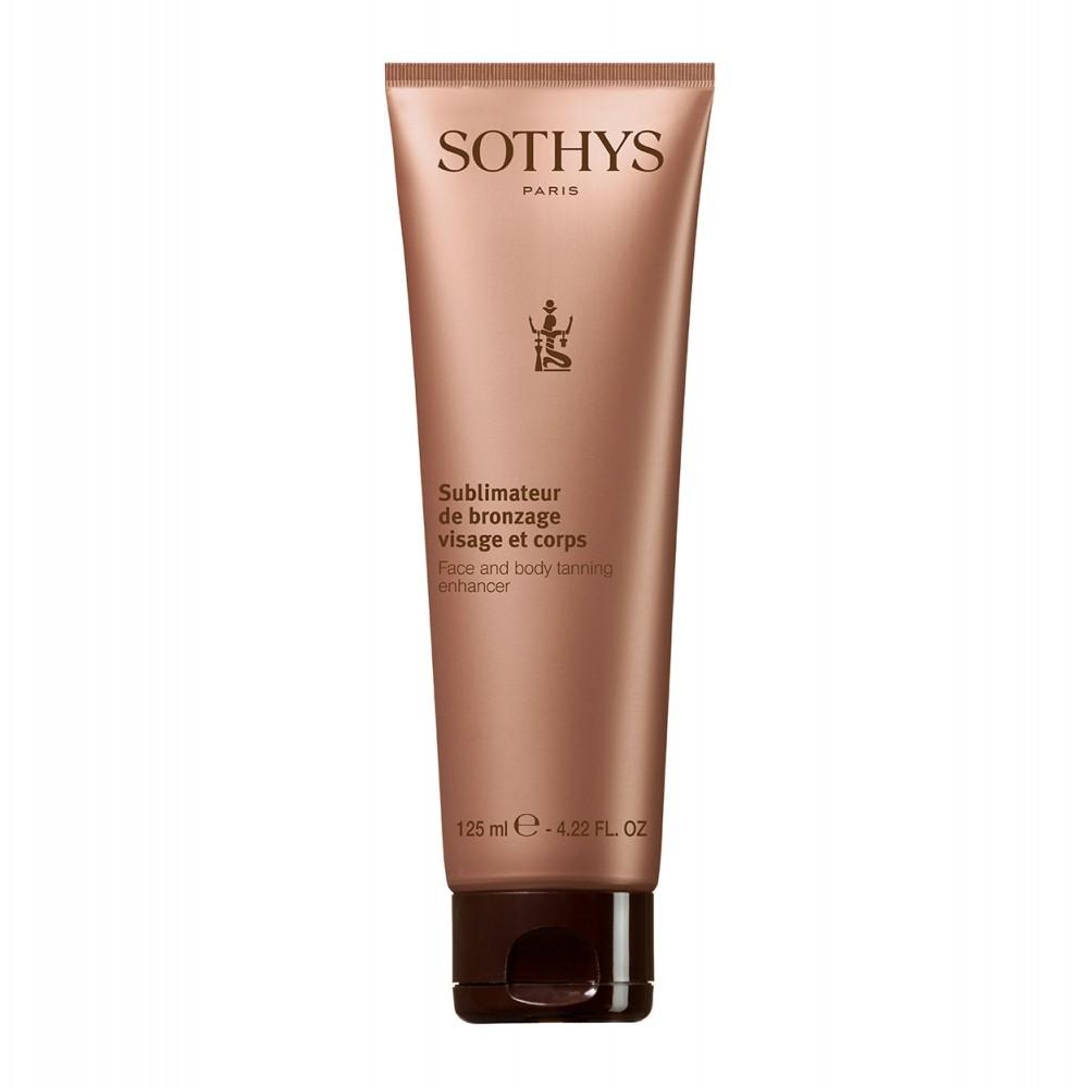 Sothys Face and Body Tanning Enchancer Лосьйон 3 в 1 для засмаги 125 мл.