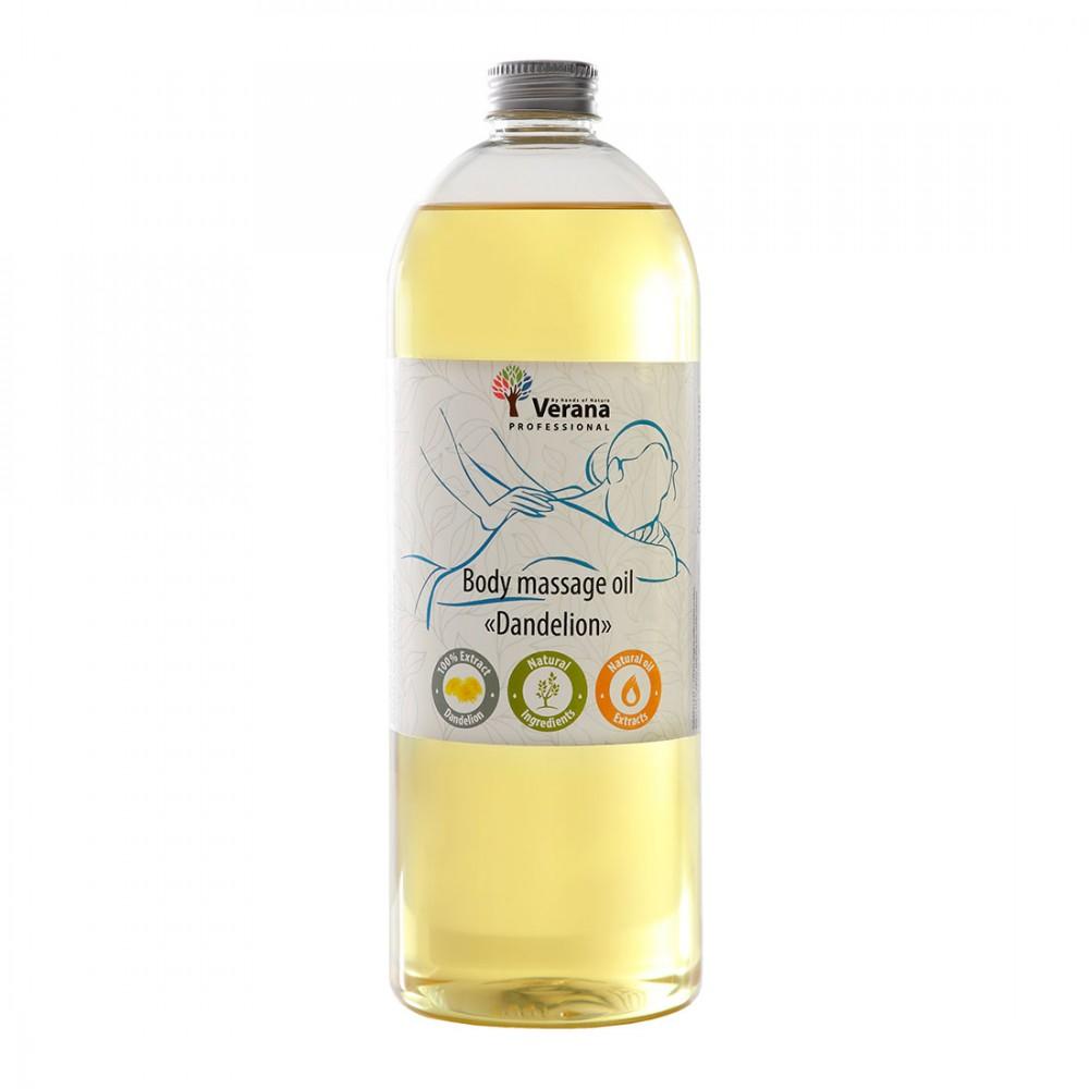 """Verana Масажна олія для тіла """"Кульбаба"""", 1000 мл."""