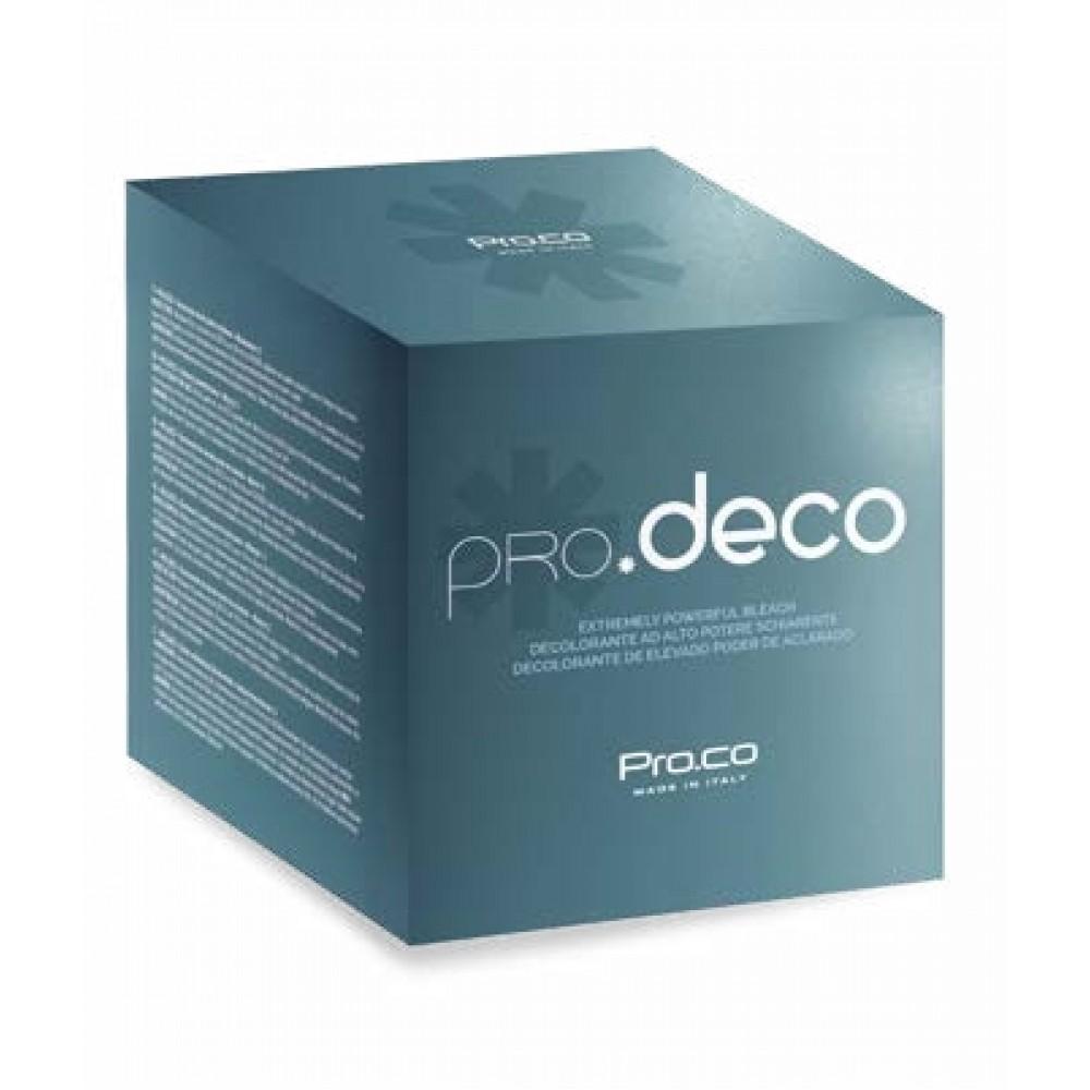 PRO.CO BLEACH pro.deco Пудра для освітлення волосся 500 гр.
