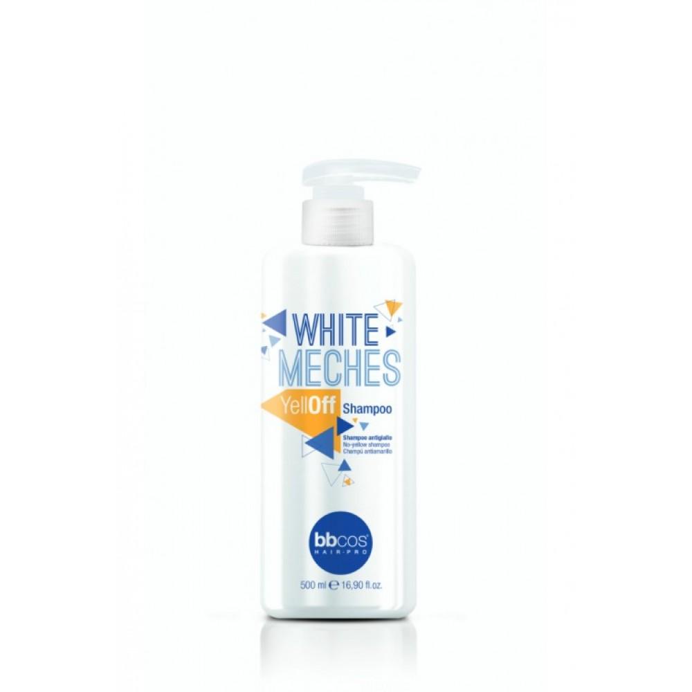 bbcos White Meches Шампунь для освітленого волосся анти-жовтий 500 мл