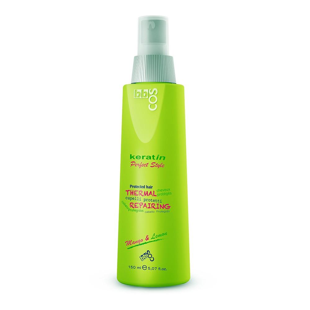 bbcos Keratin Perfect Style Спрей для волосся термозахисний 150 мл