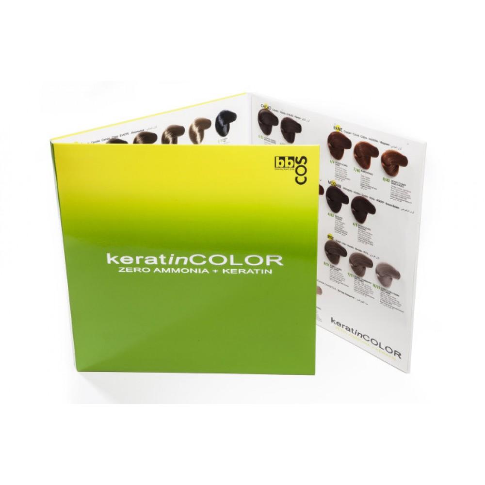 KeratinColor крем-фарба для волосся безаміачна з кератином