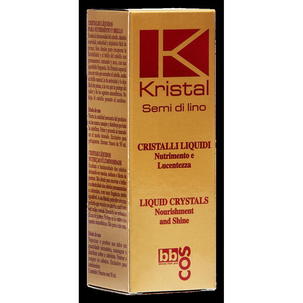 Kristal Рідкі кристали для блиску волосся  50 мл.