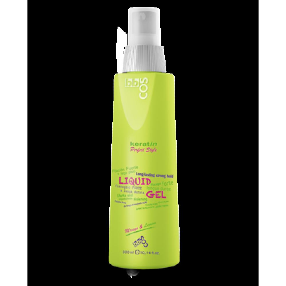 bbcos Keratin Perfect Style Гель рідкий для фіксації волосся Liquid Gel 300 мл