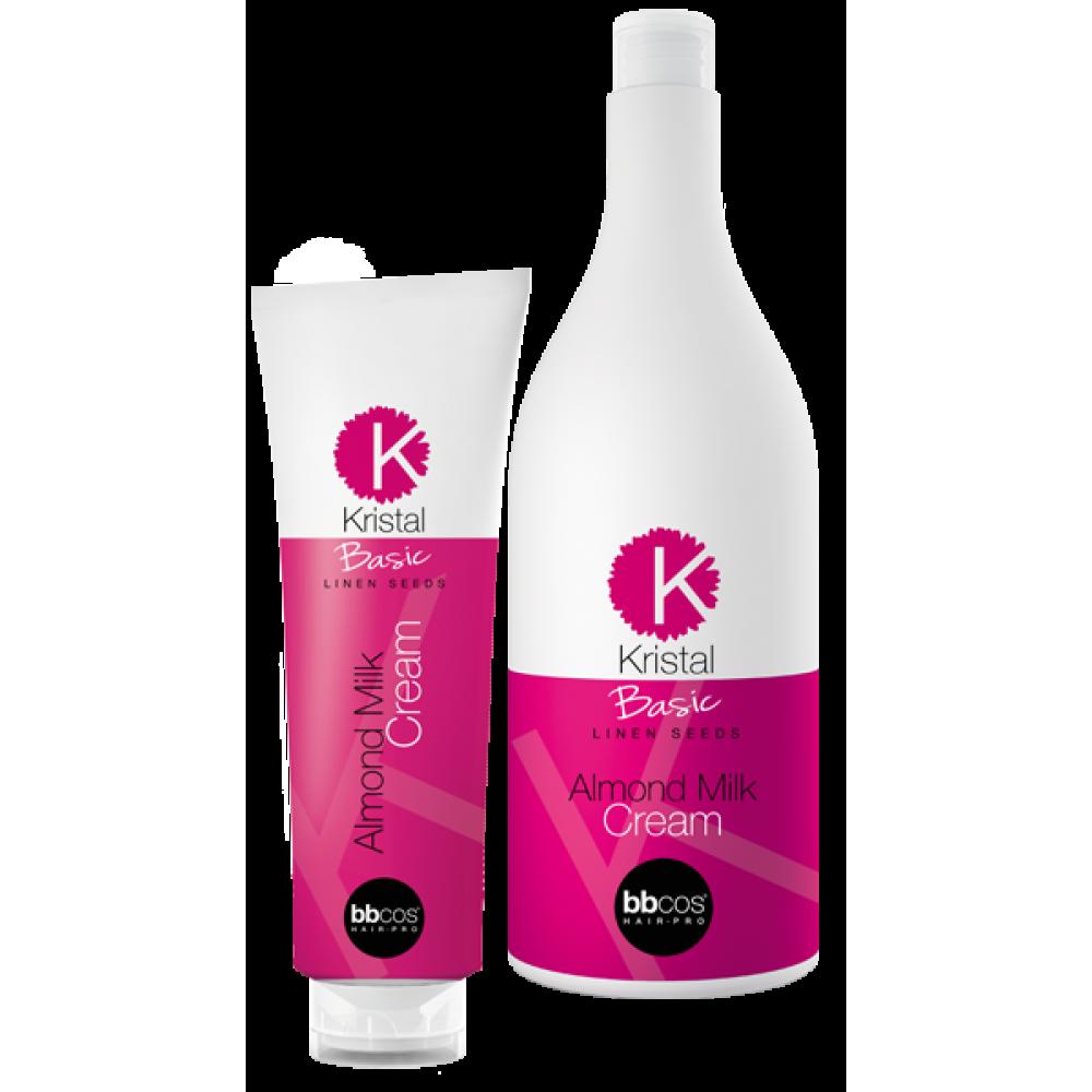 Kristal Basic Бальзам для волосся з мигдальним молочком 1500 мл