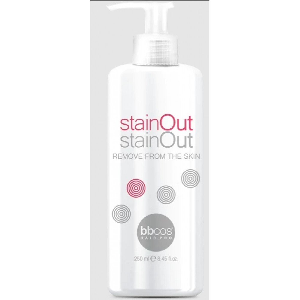 bbcos Art&Tech stainOut Засіб для видалення фарби зі шкіри голови 250 мл