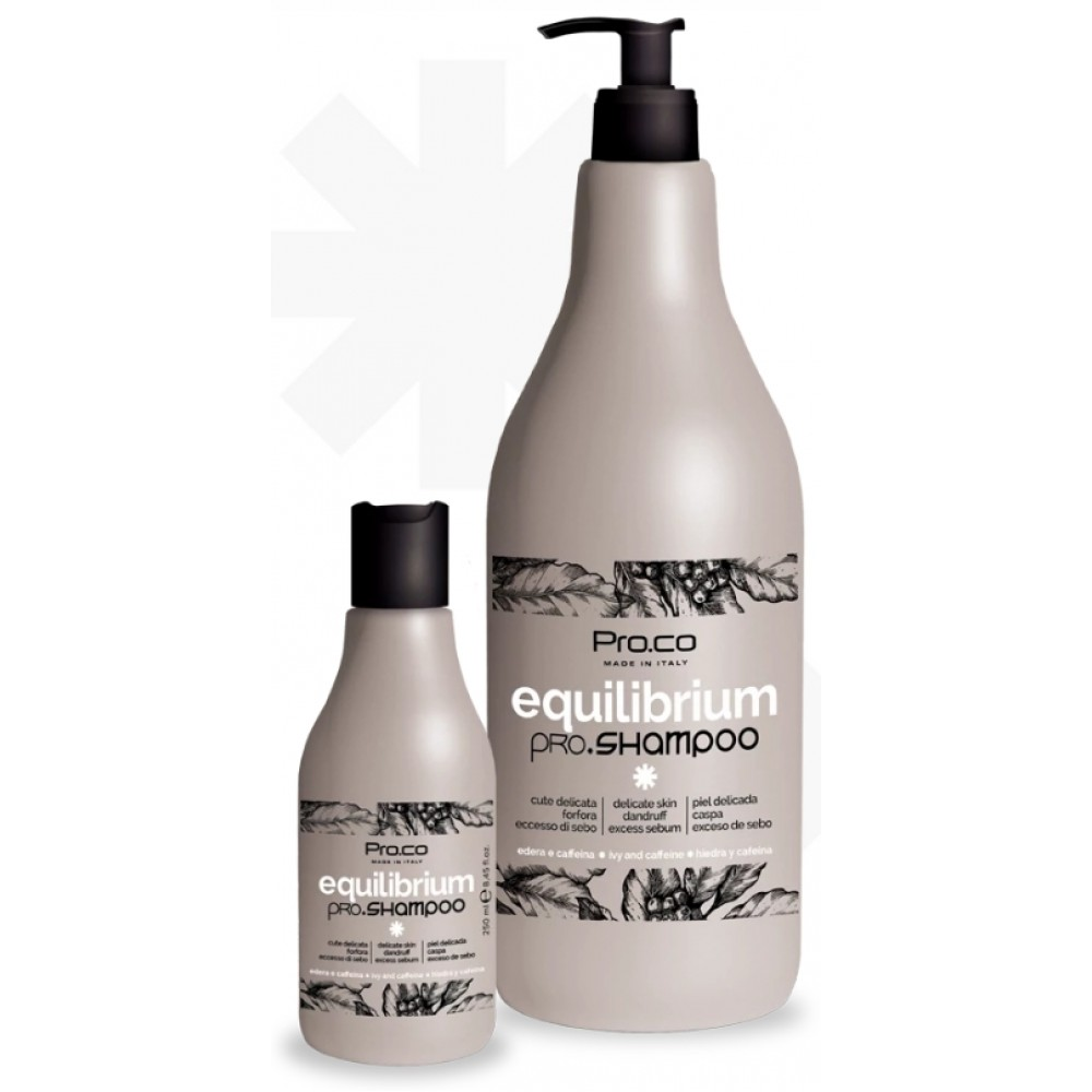 PRO.CO Equilibrium pro.shampoo Шампунь балансуючий проти лупи та жирності 250 мл
